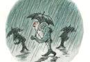 """""""Ricordati l'ombrello: disegni originali di Franco Matticchio"""" negli Spazi di Temporary Permanent"""