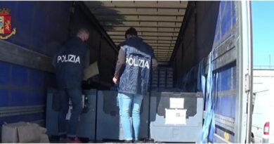 Da Spagna a Slovenia con mezzo quintale di marijuana, arrestato autotrasportatore