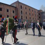 Cerimonia commemorativa del 76° anniversario della Liberazione alla Risiera di San Sabba