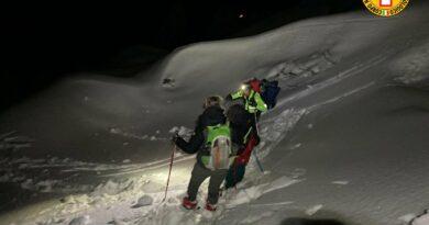 Il Soccorso alpino ha ritrovato nella notte madre e figlio dispersi sul Resettum