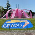 Grado in rosa per la 15^ tappa del Giro d'Italia. Domenica 23 maggio