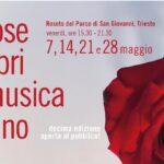 """Sboccia la rassegna """"Rose Libri Musica Vino"""" che ritorna dal vivo al Parco di San Giovanni"""