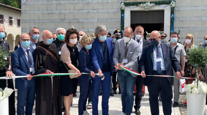 Inaugurato il Cammino di Sant'Antonio: si percorre a piedi da Gemona del Friuli a Padova