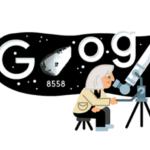 Google dedica un doodle animato all'astrofisica Margherita Hack: avrebbe compiuto 99 anni