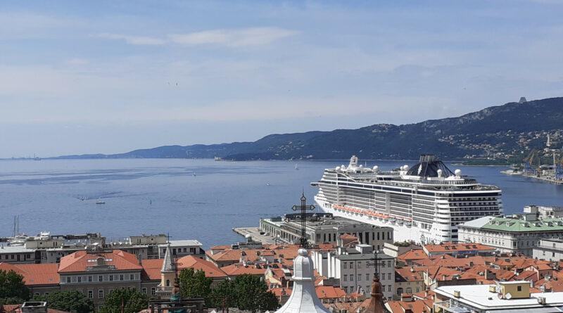 """Msc sceglie Trieste come home port per la sua nave da crociera """"Splendida"""""""