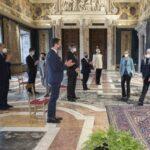 Il Presidente Massimiliano Fedriga al Quirinale per il 40° della Conferenza delle Regioni e delle Province autonome