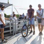 Riaperto il passaggio barca più bici X-River da Lignano Sabbiadoro a Bibione