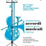 Il Festival Accordi Musicali con dieci concerti in regione
