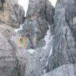 Salvato dal Cnsas un escursionista infortunatosi a Forcella Riofreddo nelle Alpi Giulie