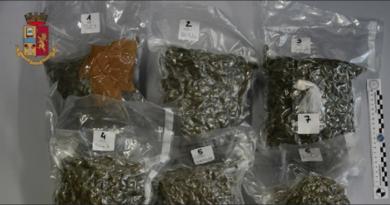 Ronchi dei Legionari, arrestato un impiegato: aveva in auto tre chili di marijuana