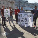Manifestazione di solidarietà per l'Afghanistan. Verso l'archiviazione del reato di ingresso illegale. Le foto