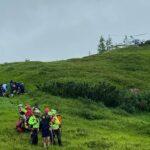 Maltempo in montagna, domenica cinque interventi del Soccorso Alpino regionale