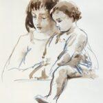 """""""Maternità"""" con Virgilio Tramontin e Renzo Tubaro"""