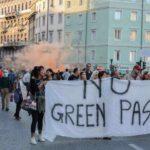 Corteo No Green Pass a Trieste.Per la terza volta in piazza i contrari all'obbligo. Le foto