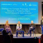 """Cristina Bonadei, Federica Marzi e Corrado Premuda hanno chiuso l'ultima giornata di """"Barcolana, un mare di racconti"""".  Breve conversazione con Cristina Bonadei"""