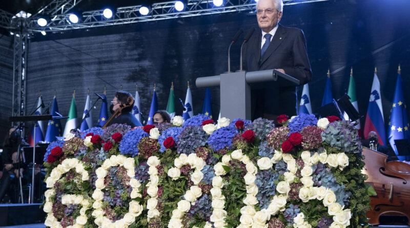 A Gorizia/Nova Gorica i presidenti delle due repubbliche per la Capitale europea della Cultura 2025